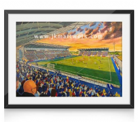 falkirk stadium on matchday print (1)
